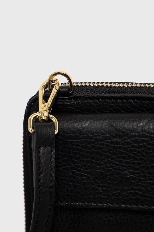 Answear Lab - Kožená taška čierna