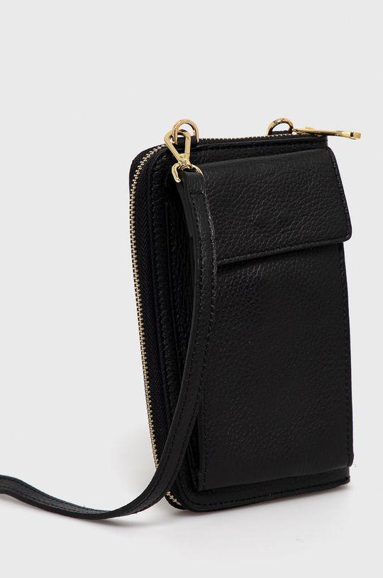 Answear Lab - Kožená taška  100% Prírodná koža