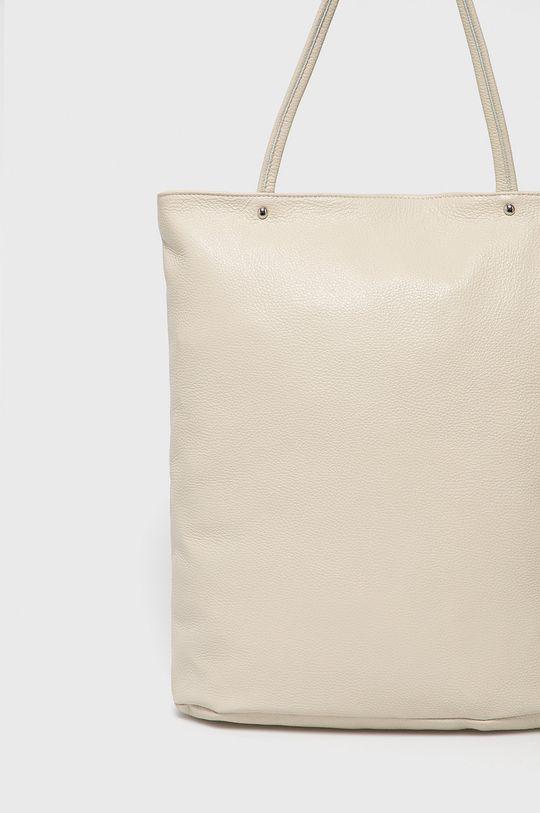 Answear Lab - Kožená kabelka z narozeninové kolekce  100% Přírodní kůže
