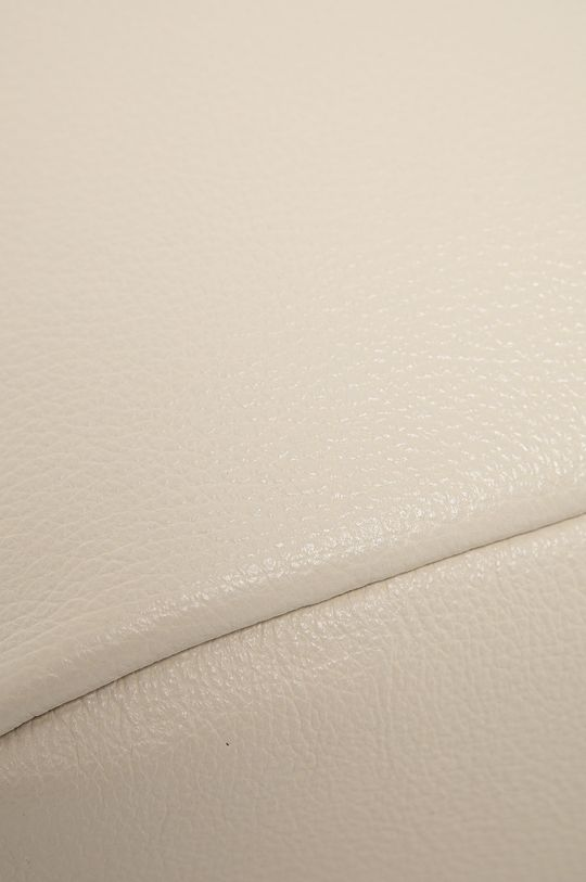 béžová Answear Lab - Kožená kabelka z narozeninové kolekce