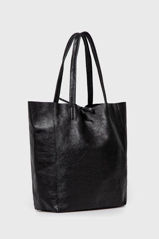 Answear Lab - Poseta de piele negru
