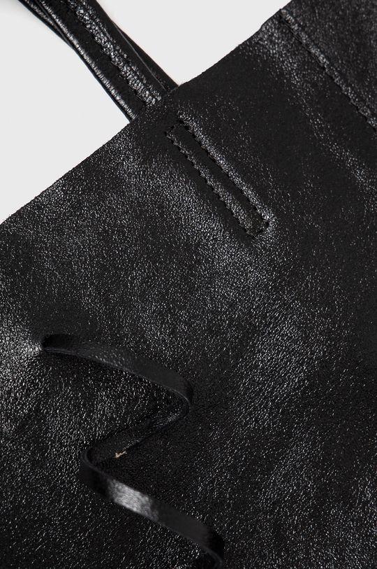 negru Answear Lab - Poseta de piele