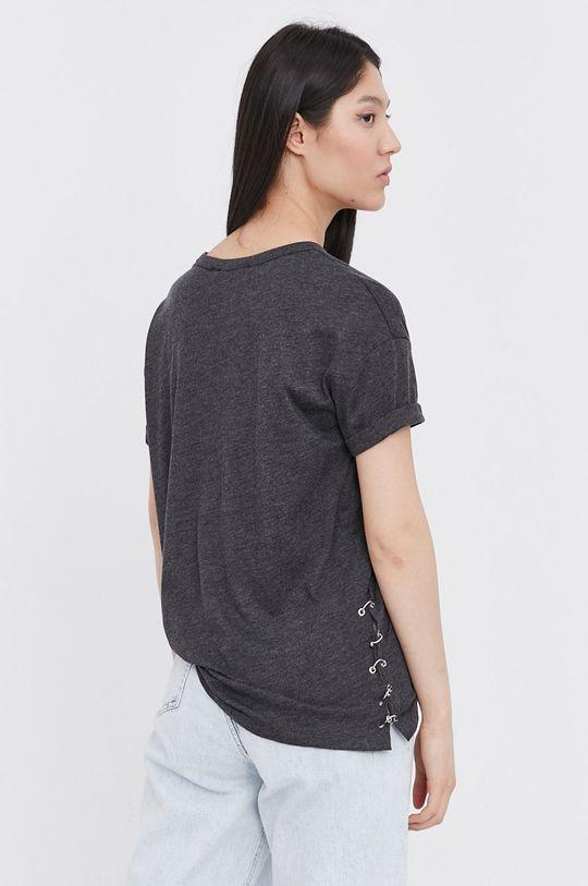 Answear Lab - T-shirt 65 % Bawełna, 35 % Wiskoza