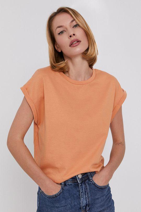 помаранчевий Answear Lab - Футболка Жіночий