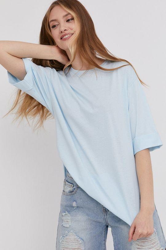 niebieski Answear Lab - T-shirt Damski