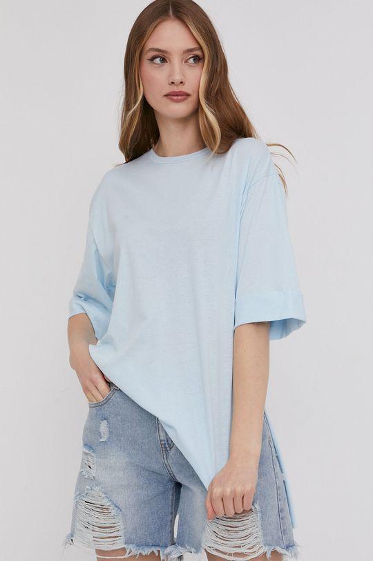 niebieski Answear Lab - T-shirt