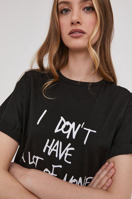čierna Answear Lab - Tričko