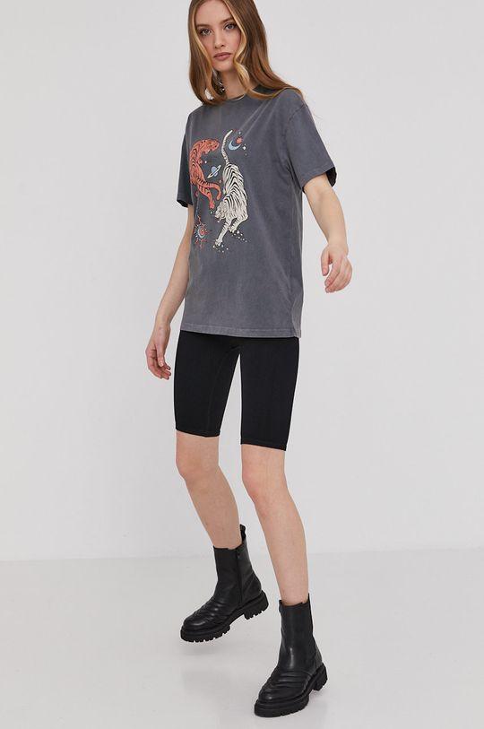 Answear Lab - Tričko sivá