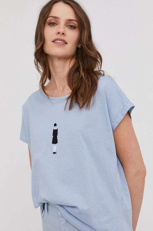 albastru Answear Lab - Tricou De femei