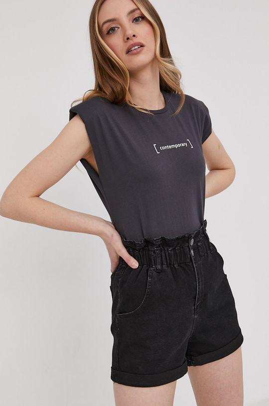 sivá Answear Lab - Tričko