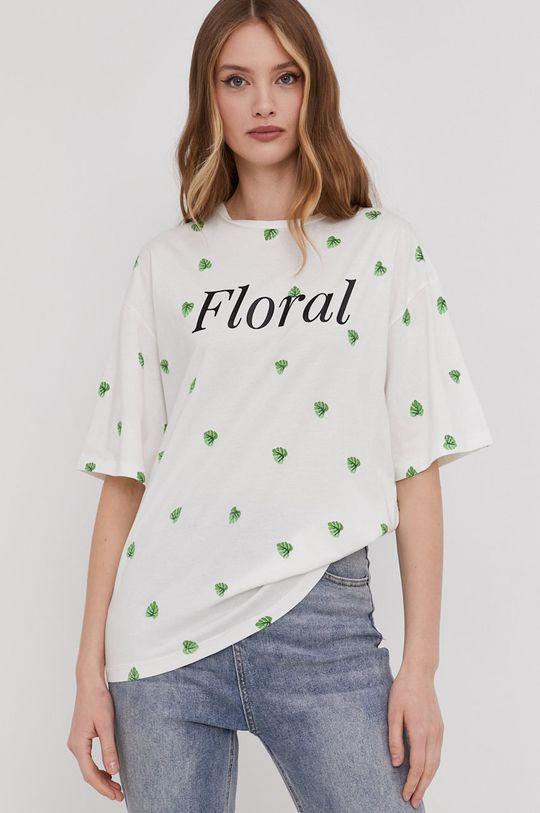 biały Answear Lab - T-shirt