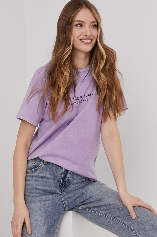 levanduľová Answear Lab - Tričko