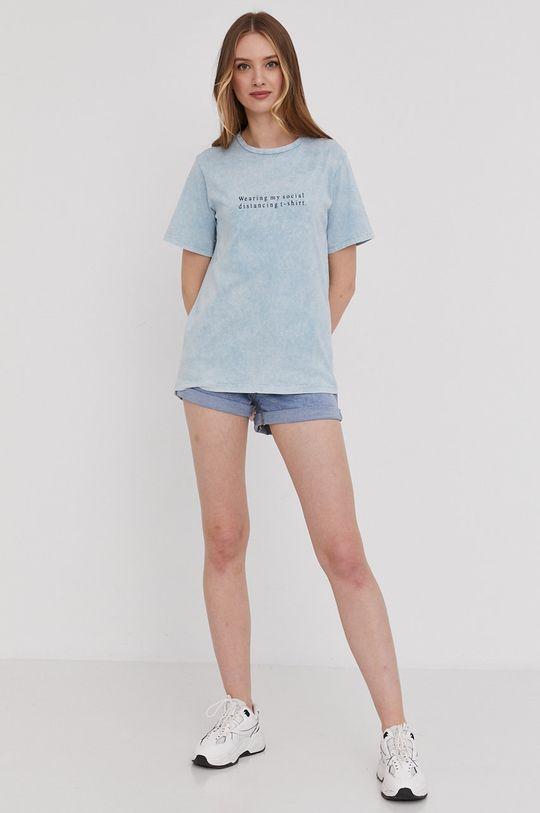 Answear Lab - Tričko modrá