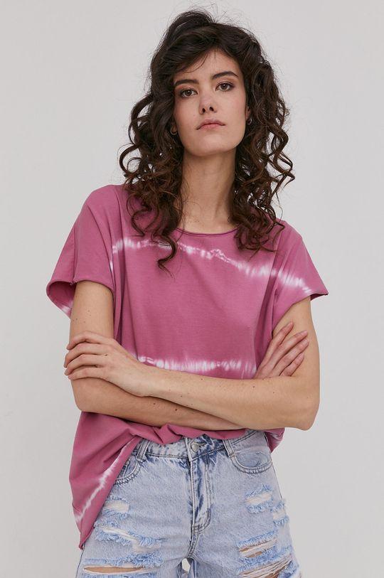 ružová Answear Lab - Tričko Dámsky