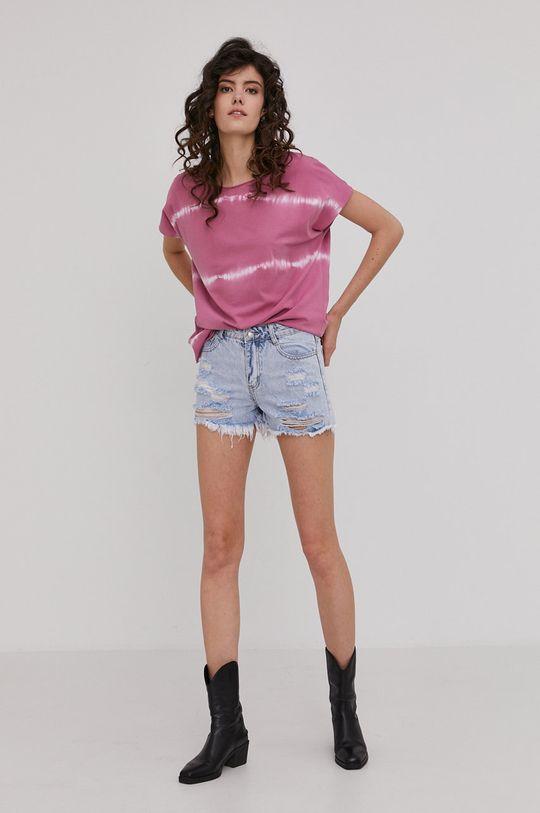 Answear Lab - Tričko ružová