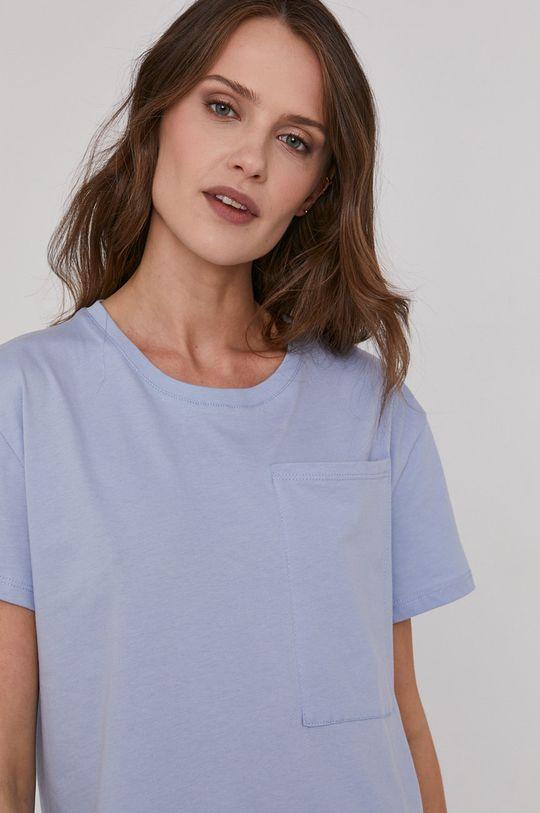 albastru Answear Lab - Tricou