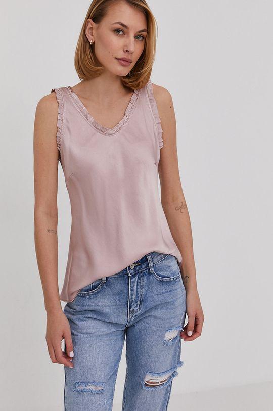różowy Answear Lab - Bluzka