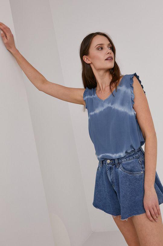 niebieski Answear Lab - Bluzka Damski