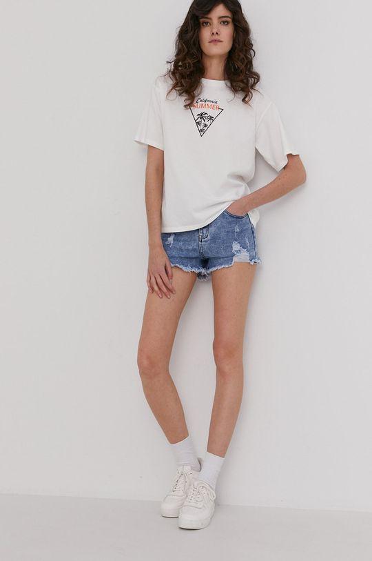 Answear Lab - Tričko biela