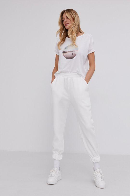 Answear Lab - T-shirt biały
