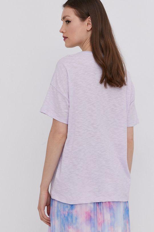 Answear Lab - Tričko  50% Bavlna, 50% Polyester