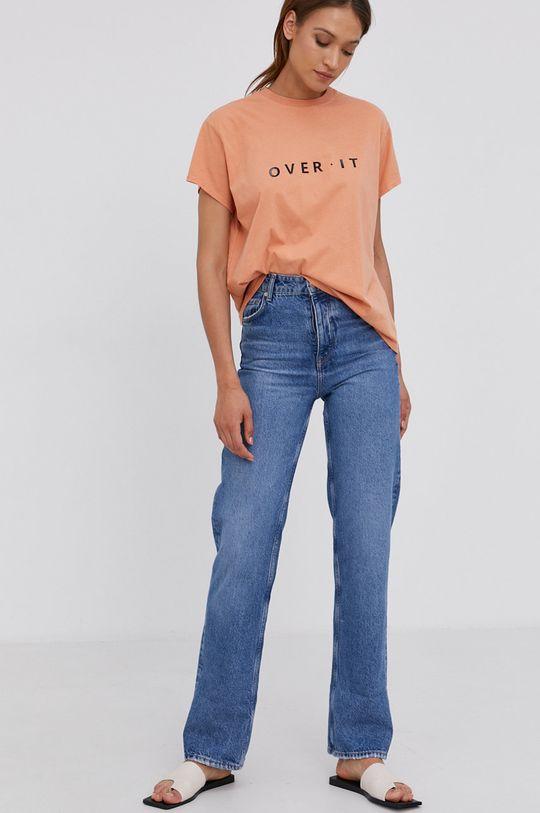 Answear Lab - Tričko oranžová