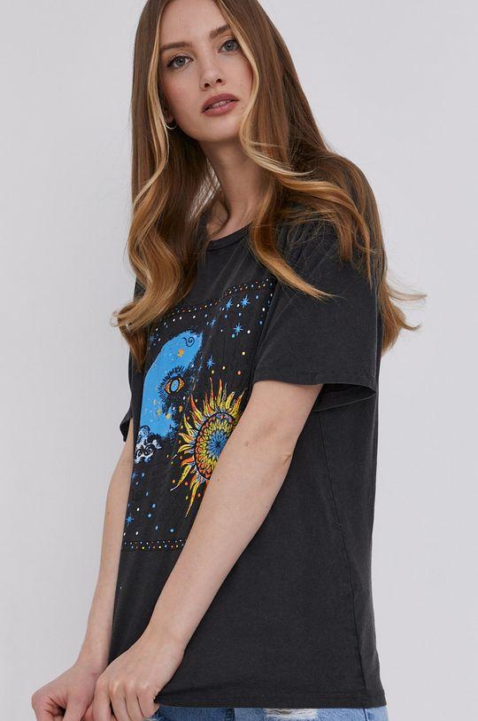 granatowy Answear Lab - T-shirt