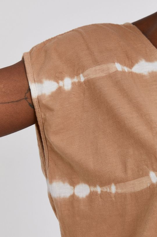 Answear Lab - Bavlněné tričko Hand Crafted Dámský