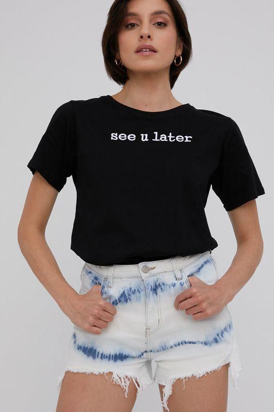 černá Answear Lab - Tričko