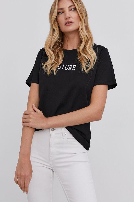 czarny T-shirt answear.LAB X kolekcja limitowana GIRL POWER