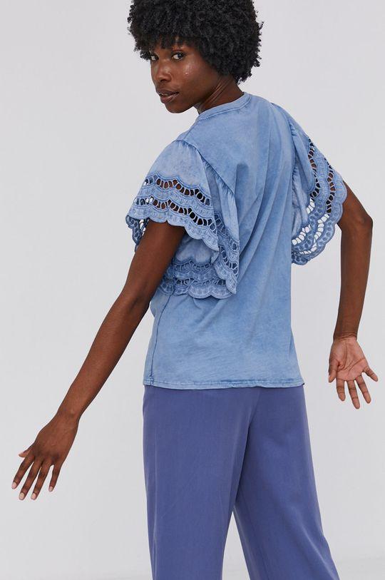 Answear Lab - Bavlněné tričko Garment Dyed  100% Bavlna