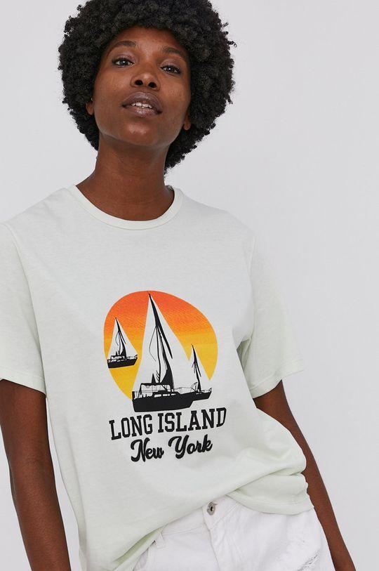 mätová Answear Lab - Bavlnené tričko