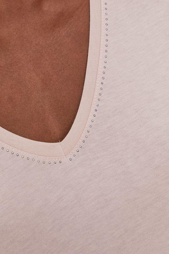 różowy Answear Lab - T-shirt