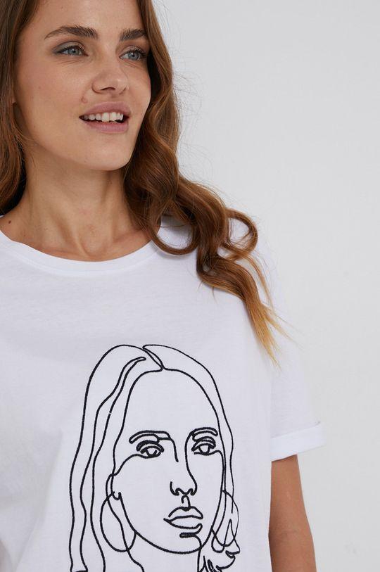 Answear Lab - T-shirt bawełniany Damski