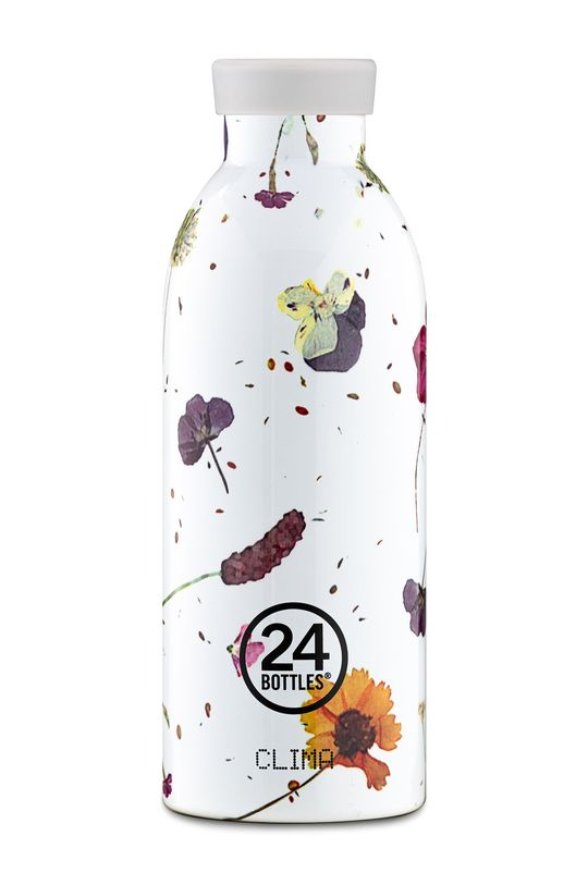 biały 24bottles - Butelka termiczna Clima Spring Dust 500ml Damski
