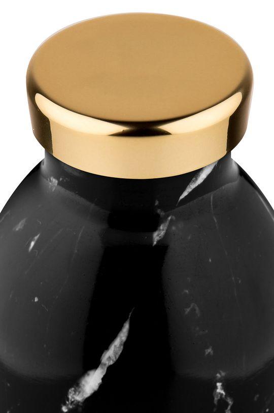 24bottles - Butelka termiczna Clima Black Marble 330ml czarny