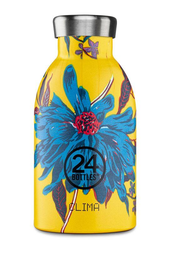 żółty 24bottles - Butelka termiczna Clima Aster 330ml Damski