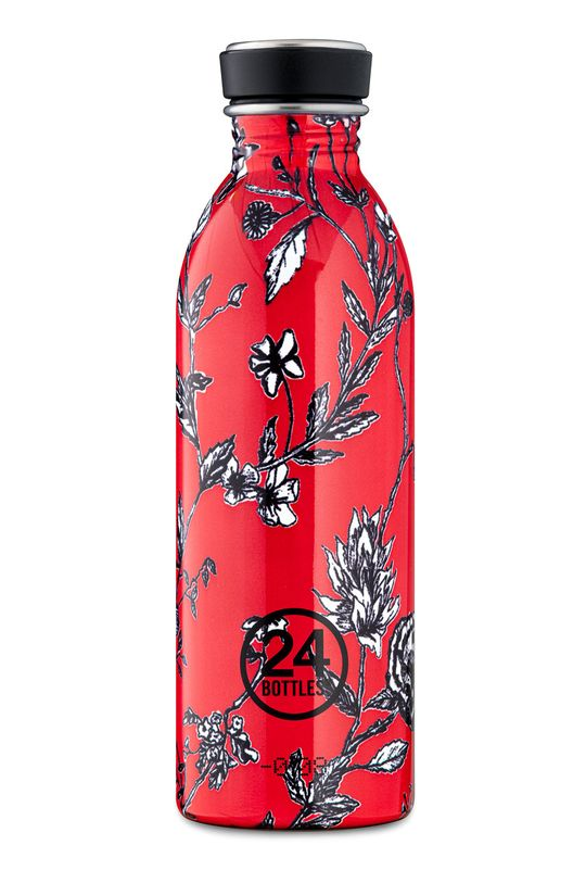czerwony 24bottles - Butelka Urban Bottle Cherry Lace 500ml Damski