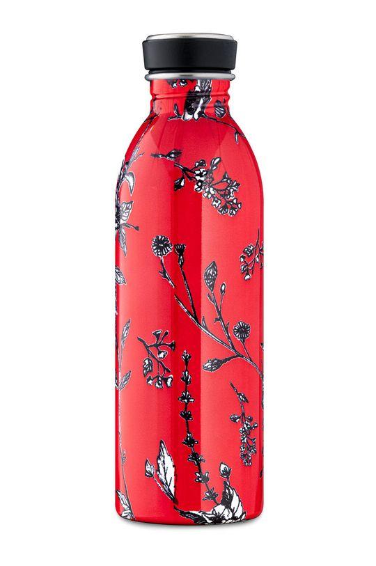 24bottles - Butelka Urban Bottle Cherry Lace 500ml czerwony