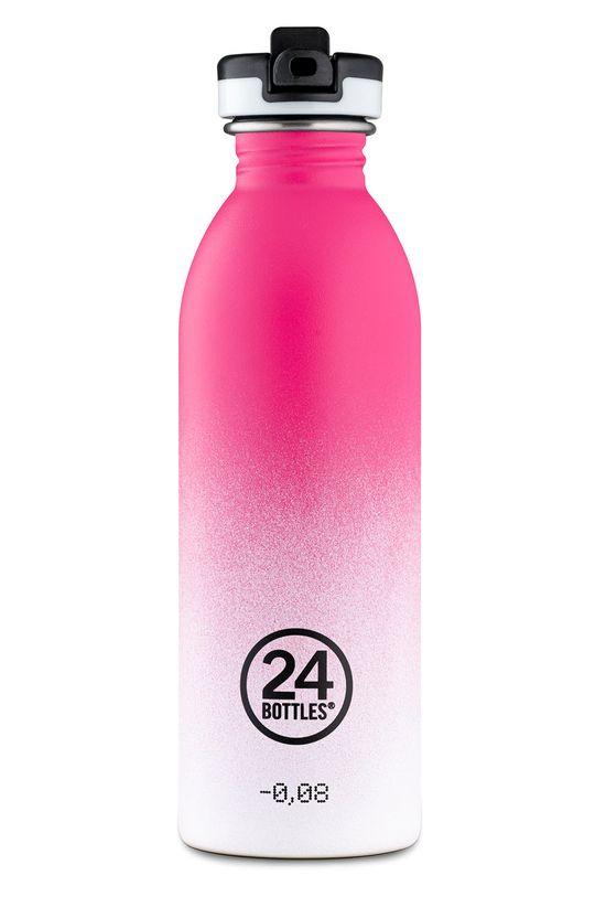 ostry różowy 24bottles - Butelka Urban Bottle Venus 500ml Damski