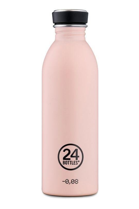 różowy 24bottles - Butelka Urban Bottle Dusty Pink 500ml Damski