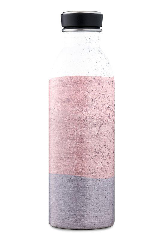 24bottles - Butelka Urban Bottle Moonvalley 500ml różowy