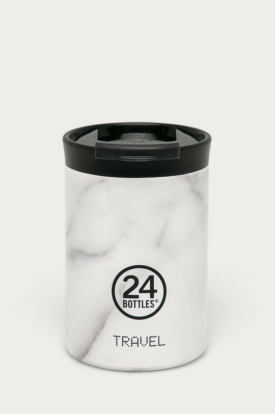 jasny szary 24bottles - Kubek termiczny Travel Tumbler Carrara 350ml Damski