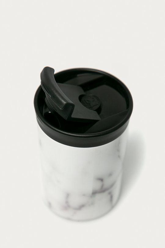24bottles - Kubek termiczny Travel Tumbler Carrara 350ml jasny szary