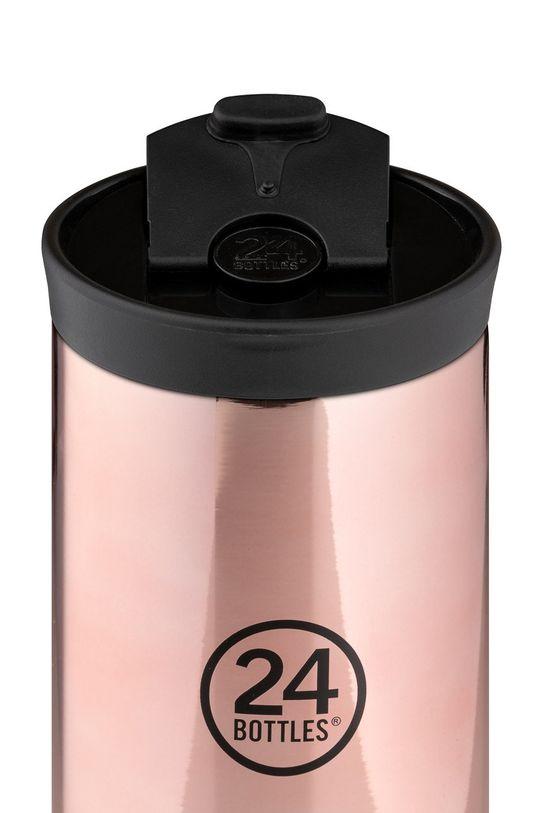 24bottles - Kubek termiczny Travel Tumbler Rose Gold 350ml różowy
