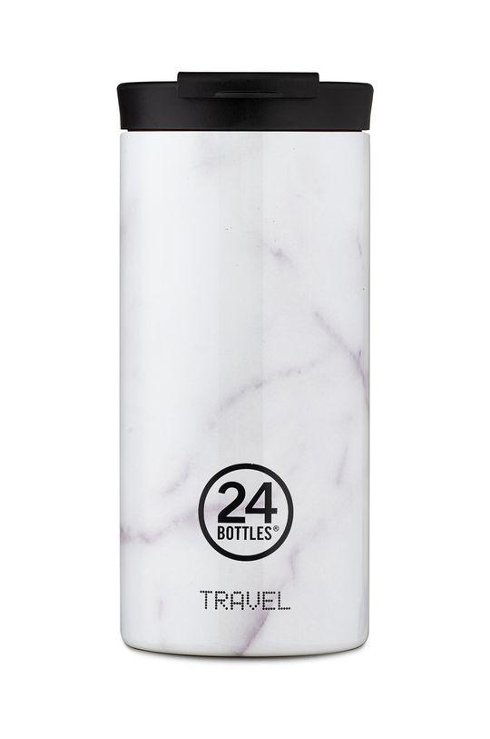 jasny szary 24bottles - Kubek termiczny Travel Tumbler Carrara 600ml Damski