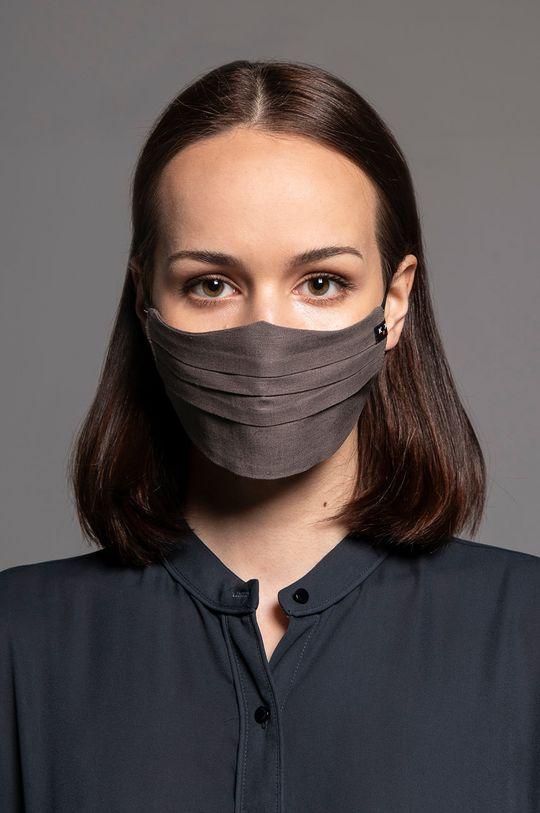 hnědá Maskka - Ochranná rouška Canvas Premium
