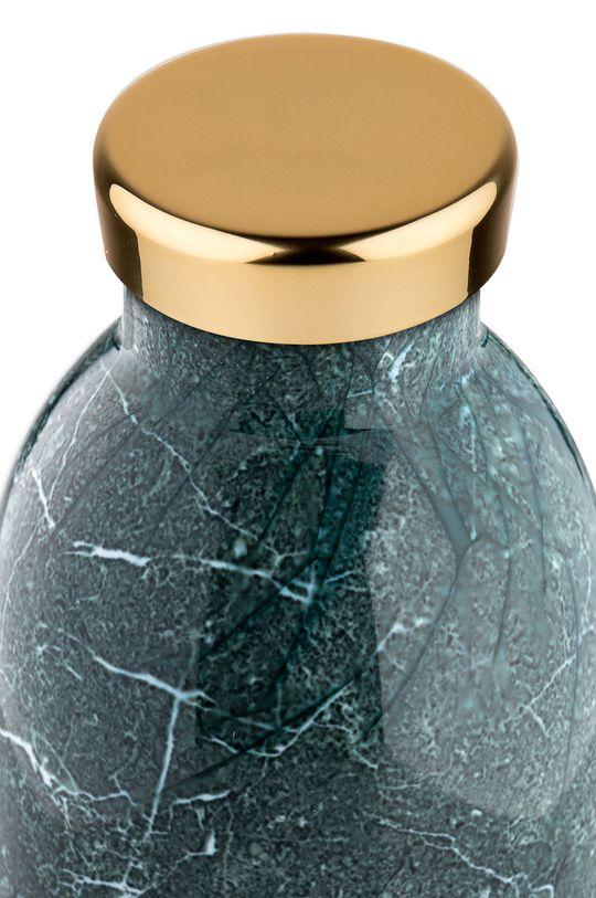 24bottles - Butelka termiczna Clima Green Marble 500ml Stal nierdzewna
