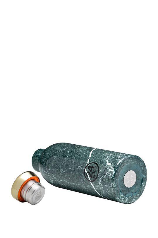 cyraneczka 24bottles - Butelka termiczna Clima Green Marble 500ml
