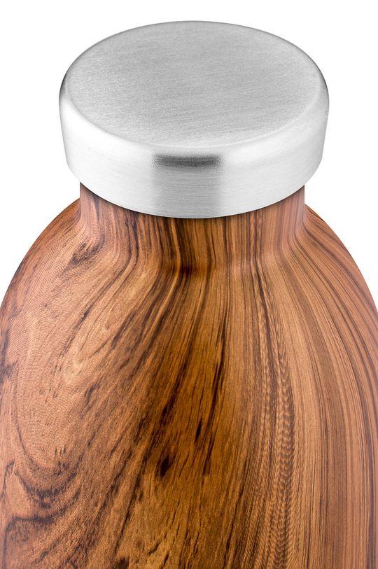 24bottles - Butelka termiczna Clima Sequoia Wood 500ml brązowy